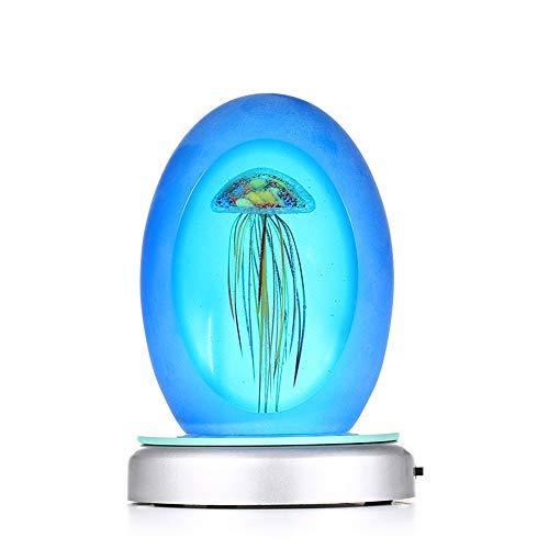 ALG Decoración de iluminación de Medusas, Material de Vidrio, Hermoso Ambiente, Adecuado...