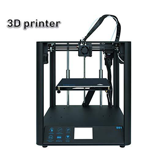 3D-Drucker, hochauflösender 3,5-Zoll-Touchscreen, stummgeschaltet, Acrylabdeckung, Abschaltfunktion, geringes Gewicht, Verbrauchsmaterial PLA ABS TPU WOOD, Druckgröße (220 * 220 * 220 mm)