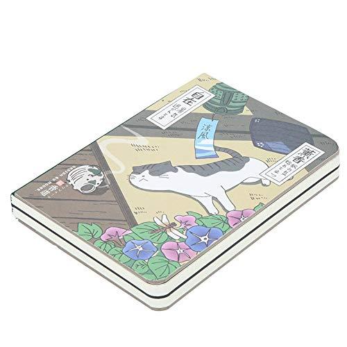 Quaderno per appunti piccolo Taccuino per schizzi Taccuino per schizzi Taccuino per diario Blocco per appunti a mano Taccuino per viaggi Ragazze Ragazzi per la scrittura Stile gatto(stile4)