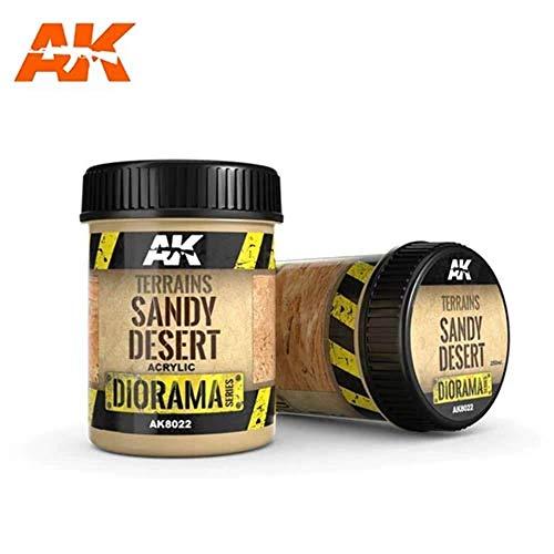 (AK8022) - AK Interactive Terrain 250ml - Sandy Desert