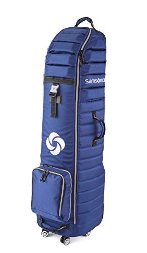 """Samsonite Spinner Wheeling Golf Travel Cover, Blue, 51""""H x 17""""W x 14""""D"""