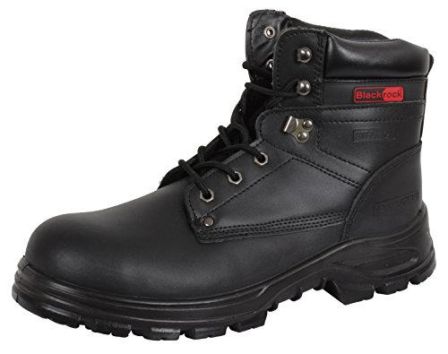 Blackrock SF08,Unisex-Erwachsene Sicherheitsschuhe, Schwarz (Black), 43 EU ( 9 UK)