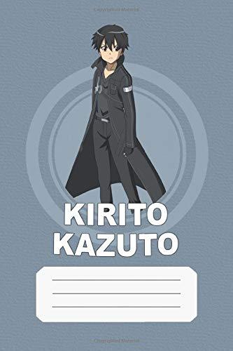 Kirito Kazuto: Sword Art Online, Kirito, 112 Lined Pages, 6 x 9 in, Anime Notebook Diamond