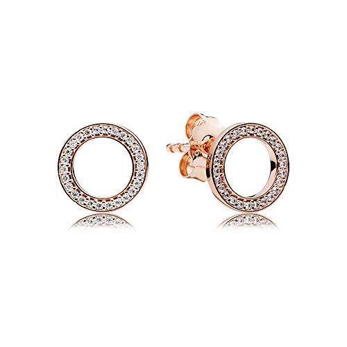 Pandora Forever Rose Gold One Size Earring 280585CZ
