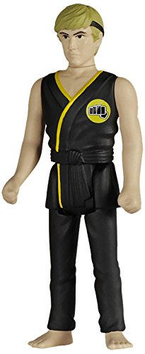 Funko 018493 Reaction: The Karate Kid Johnny Lawrence Action Figure, 9.5 cm