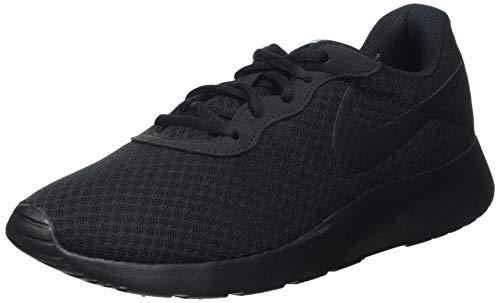 Nike Damen WMNS Tanjun Sneaker, Black Black White, 39 EU
