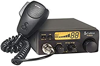 Cobra 19DXIV Professional CB Radio - Instant Channel 9 and 19, 4 Watt Output, Full 40 Channels, LCD Display, RF Gain Control, Compact Design