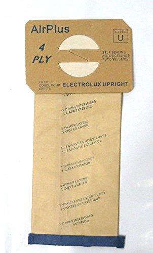 掃除機バッグ Electrolux 直立型掃除機 STYLE U用 100袋