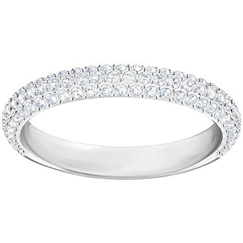 Swarovski Damen-Ringe Edelstahl Kristall '- Ringgröße 55 5383948