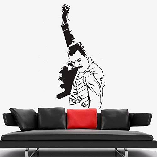Banda de msica rock Freddie Mercury tuba boho arte de vinilo