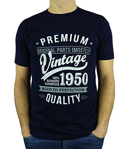 My Generation T-Shirts Vintage Year - Aged to Perfection - 70th Birthday Gift/Present Mens T-Shirt...
