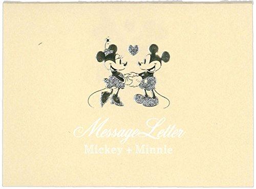 デルフィーノ クラッシー メッセージレター ディズニー ミッキー&ミニー ベージュ DZ-79166