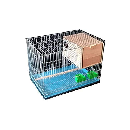 Jaula dpájaros duradera y ecológica, Travel Carrier para aves Pájaros Parrot Jaula de aves Pájaros Pájaros Cría de aves Cause PET Suministros para mascotas (rectangular) Productos para mascotas de jau