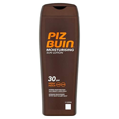Piz Buin - Protección Solar, Moisturising Loción Solar Hidratante SFP 30 - Protección alta Bote 200 ml