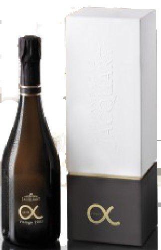 Cuvée Alpha 2010 in Geschenkpackung Champagne Jacquart, trockener Jahrgangs-Champagner