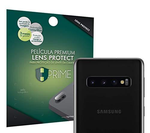 Pelicula para camera LensProtect para Samsung Galaxy S10, HPrime, Película Protetora de Tela para Celular, Transparente