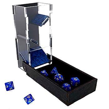 C4Labs Colour Lux Drawbridge Dice Tower - Symphony Blue