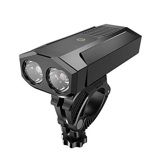TIANkuo X-Tiger Bicicleta Ligera Impermeable Linterna USB Recargable LED 1800 lúmenes MTB Road Bike Front Lamp Accesorios de Bicicleta