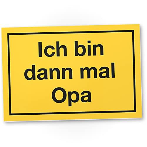 DankeDir! Cartel de plástico con texto en alemán