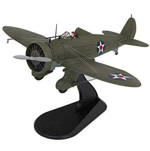 CMO Modellino Aereo, Boeing P-26A Peashooter Wheeler Field Hawaii 1941 Lega Modello Scala 1/48, Giocattoli e Regali per Adulti, 5,9 X 6,9 Pollici