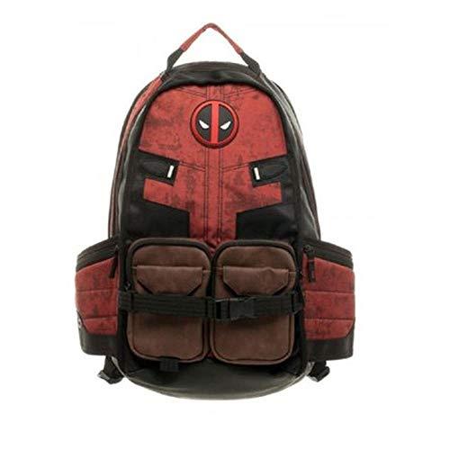 Marvel's Deadpool School Bag Deadpool Avengers Batman Backpack Backpack School Bag- Deadpool Backpack