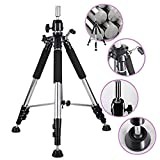 Xtrend Aluminum Alloy Adjustable Tripod Stand Holder Heavy Duty Cosmetology Tool for Hairdressing