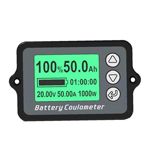 Capacidad de la batería Indicador de Metro del calibrador del probador TK15...