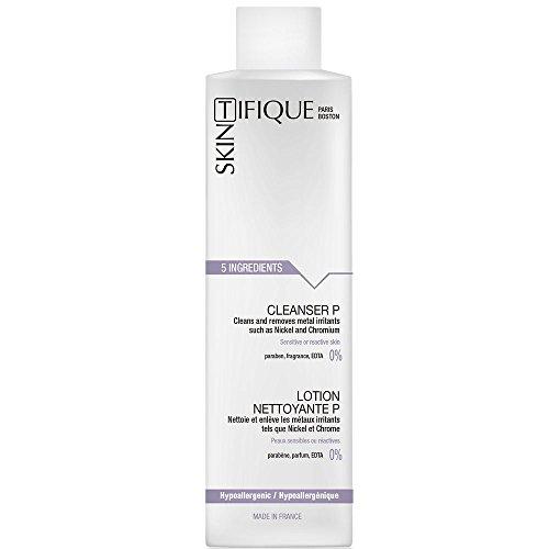 Loción limpiadora P (200ml) - Muy segura y con agua micelar pura. Limpia, elimina el maquillaje, purifica suavemente. Elimina impurezas, rastros de contaminación y metales. Piel sensible, reac