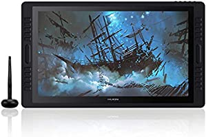 2019 Huion KAMVAS Pro 22 Graphic Drawing Monitor Pen Display Tilt Function Battery-Free Stylus 8192 Pen Pressure with 20...