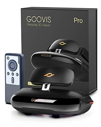 【正規品】GOOVIS Pro ヘッドマウントディスプレイ プライベートシアター VRゴーグル VRヘッドセット 1年保証 eh保証書
