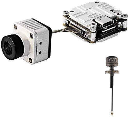 Cámara FPV Caddx Vista Kit 720P Cmos Lente de 2.1 Mm Mini Cámara de 150 Grados con 5.8 GHz FPV Vtx 4 Km Rango Máximo Sistema Digital Aio para dji FPV Gafas Control Remoto Drones Whoop