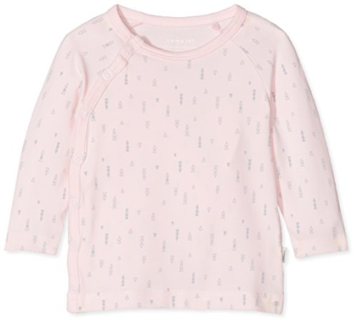 Name It Nbndelucious Ls Wrap Top Noos T-Shirt, Rose (Ballerina), 68 Mixte bébé