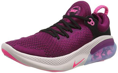 Nike Womens Joyride Run Flyknit Running Shoes (8, Pink/Berry)