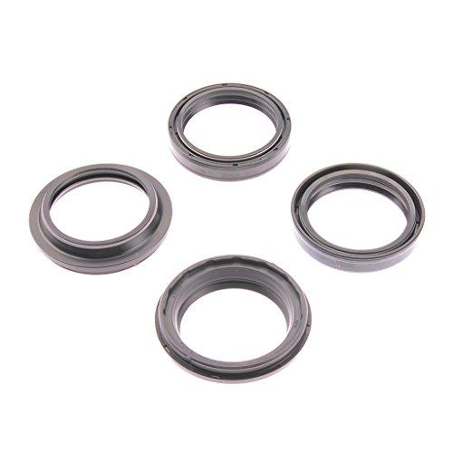 Fourchette Simmer oreilles FSD Kit de 030 43 x 55 x 9,5/10,5 + Bouchons anti-poussière Yamaha YZ 250 3 x K 91–91