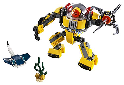 The 3-in-1 Robot LEGO set is one of the best toys for 7-year-old boys