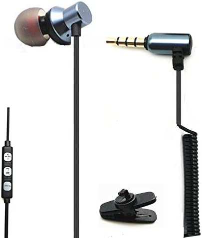 Single Side Earbud with Mic One Ear Earphone Mono Earbud Headphones for iPhone Android Smartphones product image