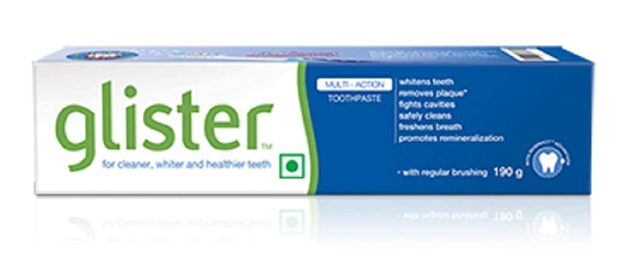 鼻成功看板グリスター歯磨き粉 - 190 g