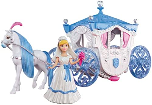 Mattel X2840 - Disney Princess Cinderella Hochzeitskutsche, Zubeh
