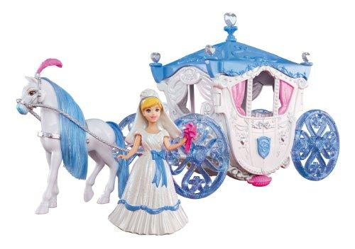 Mattel X2840 - Disney Princess Cinderella Hochzeitskutsche, Zubehör