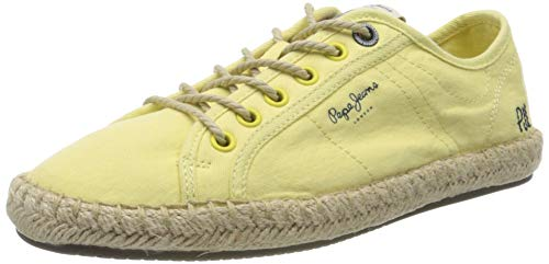 Pepe Jeans London Damen Tourist Island W Sneaker, Gelb (Fresh Yellow 022), 39 EU
