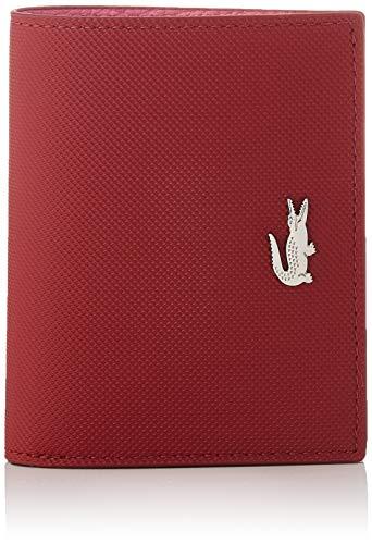 Lacoste NF3252, Accessoire de voyage- Portefeuille Pour Femmes, Rouge (ALIZARINE CHATEAU ROSE), Taille unique