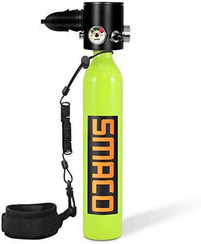 SMACO Scuba Tank, Scuba Diving Tank Ausr¨¹Stung, 0.5L Mini Scuba Dive Cylinder Schnorchelausr¨¹Stung f¨¹r Sauerstofftauchg?nge mit Einer Kapazit?t von 5-10 Minuten f¨¹r das Tauchen unter Wasser()