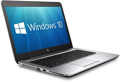 "HP 14"" EliteBook 840 G3 Ultrabook - Full HD (1920x1080) Core i5-6300U, 8 Go de RAM, Disque SSD 256 Go, Webcam, WiFi, Windows 10 Pro (Clavier AZERTY Français) (Reconditionné)"