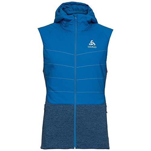 Odlo Vest MILLENNIUM S-Thermic Veste sans manches Homme directoire blue FR : L (Taille Fabricant : L)