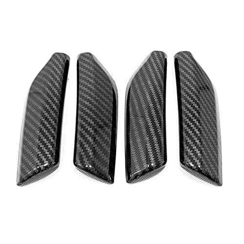 Woalzmt para Audi Q3 F3 Sportback 2019 2020 2021, Accesorios de Coche, apoyabrazos de Puerta, Protector de Rayas, Cubierta Adhesiva, 4 uds, moldura Interior