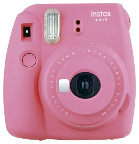 Fujifilm Instax Mini 9 Camera Smoky White, Camera, flamingo roze