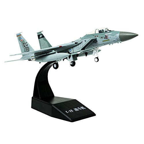 1/100 Scale F-15 Eagle Fighter Attack Plane Metal Fighter Military Model Fairchild Republic Diecast Plane Model for Commemorate Collection or Gift