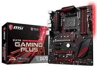 MSI X470 GAMING PLUS ATX ゲーミングマザーボード [AMD X470チップセット搭載] MB4388
