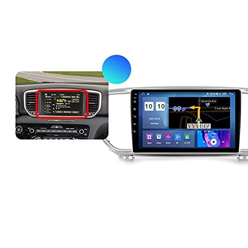 ADMLZQQ Autoradio Coche para Kia Sportage 4 QL 2018 2019 Bluetooth 2 DIN Android Radio De Coche 9'' Pantalla Táctil 5G WiFi Plug and Play Completo RCA Soporte Carautoplay/GPS/Dab+/OBDII,Type b,M300S