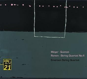 メイヤー、ローレム:弦楽五重奏曲、弦楽四重奏曲